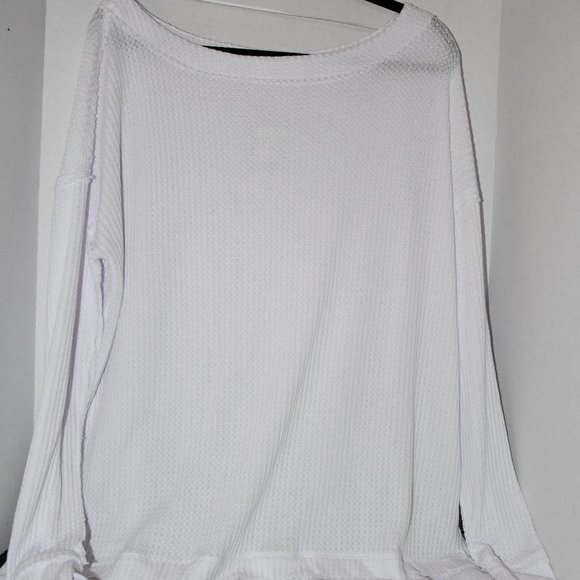 Free People  North Shore Tunic Top in White XS